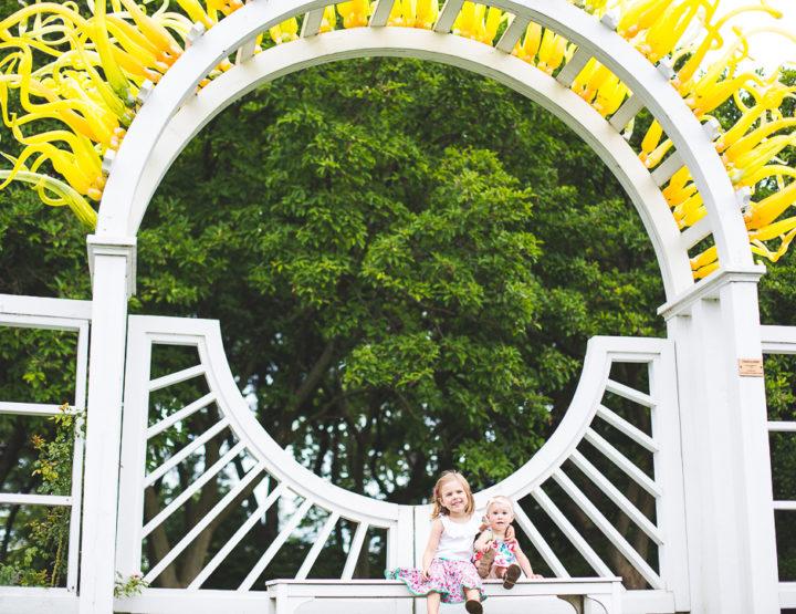 St. Louis Family Photography | Missouri Botanical Gardens