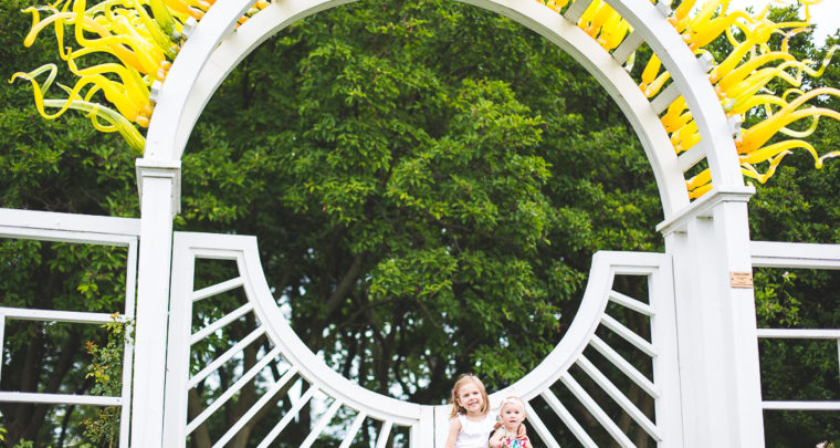 St. Louis Family Photography   Missouri Botanical Gardens
